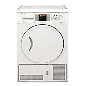 Beko DPU8360W Condenser Tumble Dryer, 8 Kg Load, A+ Energy Rating, White