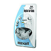 Maxell Rhythmz Digital Earbuds (White) (3 day lead)