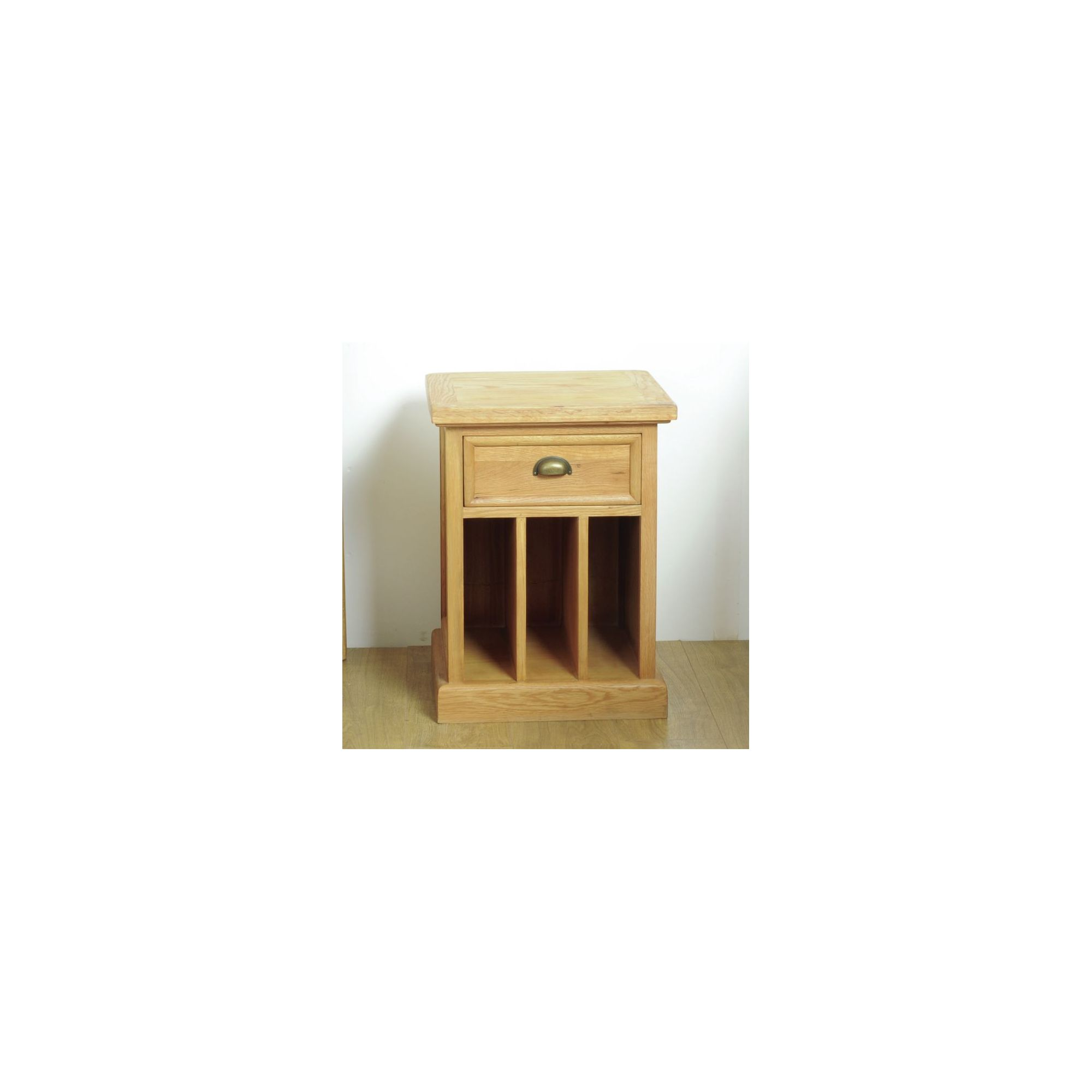 Oceans Apart Victoria Oak One Drawer Side Table at Tesco Direct