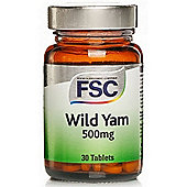Fsc Wild Yam 500Mg 30 Tablets