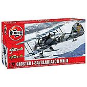 Airfix Gloster J-8A / Gladiator Mk II (1:72 scale)