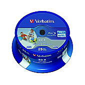 Verbatim DataLife Blu-ray Recordable Media - BD-R, 25 Pack