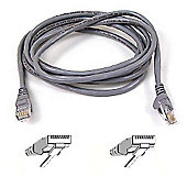 Belkin CAT6 0.5m RJ45 UTP snagl Patch Cable grey