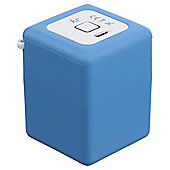 Kitsound Shot Portable Rechargeable Bluetooth Speaker Blue