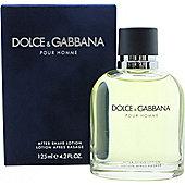 Dolce & Gabbana Pour Homme Aftershave Splash 125ml For Men