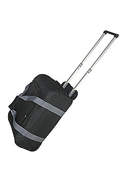 Tesco 2-Wheel Small Black Holdall