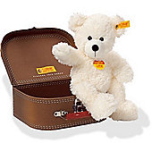 Steiff Lotte Teddy Bear in Suitcase 28cm