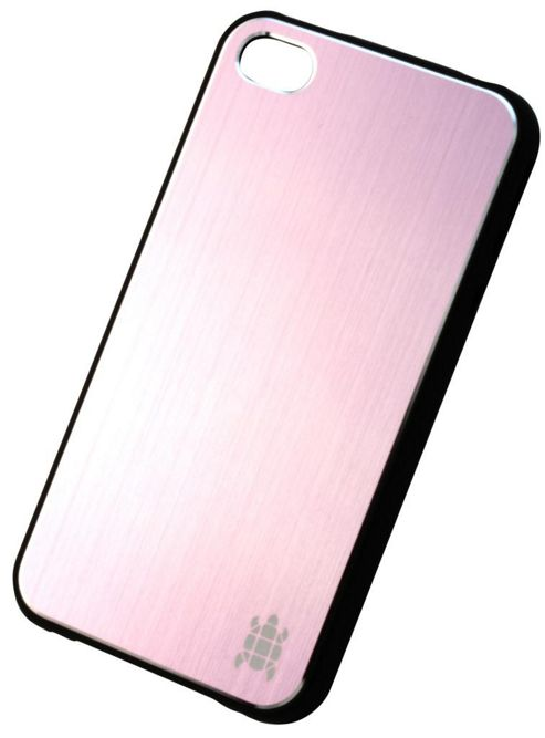 Tortoise™ Hard Case iPhone 4/4S Brushed Metal Pink