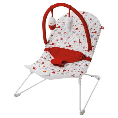 Red Kite Bouncy Cradle Hello Ernest
