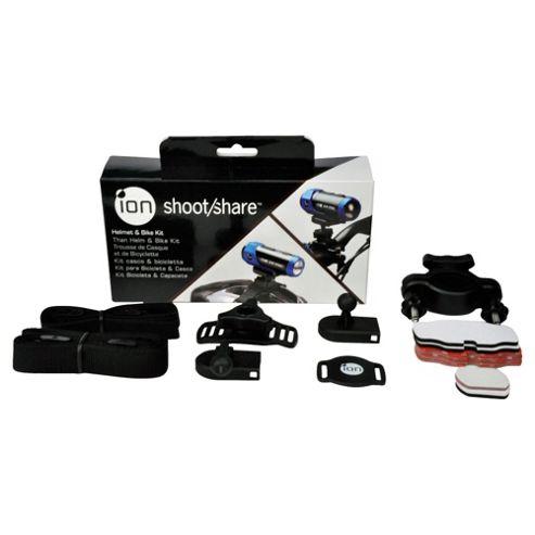 iON Bike Helmet Action Camera Mount Kit