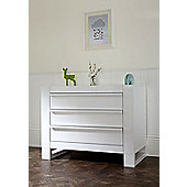 Tutti Bambini Rimini  Nursery Chest Changer, High Gloss White