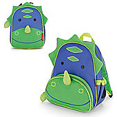 Skip Hop Zoo Pack Kids Backpack & Lunch Bag - Dinosaur