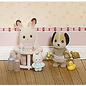 Sylvanian Families Delightful Duo Carry Cases - Colours & Styles May Vary