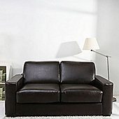 Leader Lifestyle Winston Sofa Bed - Brown Bonded Leather