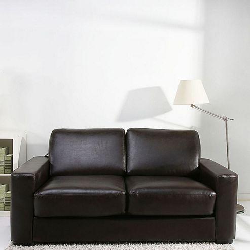 buy leader lifestyle winston sofa bed brown bonded. Black Bedroom Furniture Sets. Home Design Ideas
