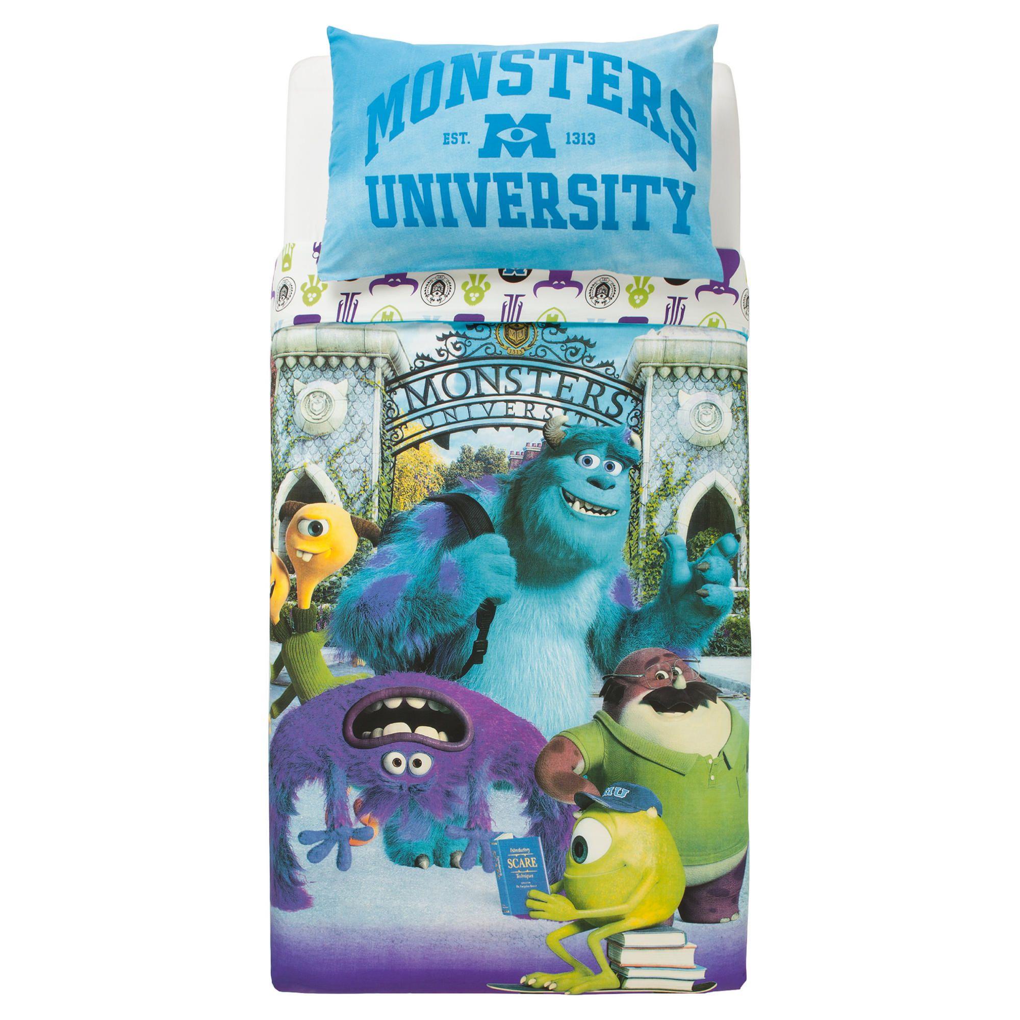Home And Garden Gt Bedroom Pixar Monsters University Duvet
