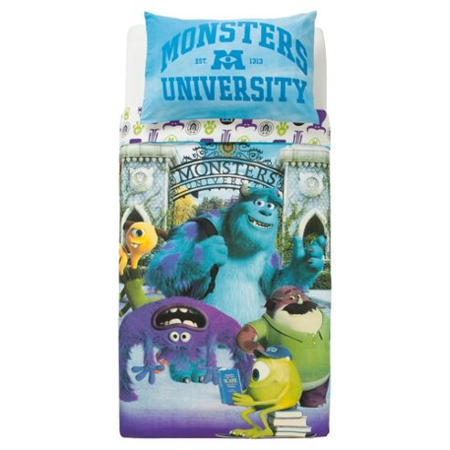 Pixar Monsters University Duvet Cover Set Single