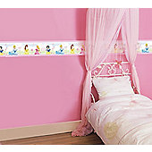 Disney Princess Castle Wall Border Roll