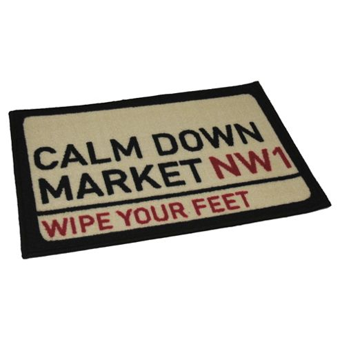Calm Down Market Indoor Washable Mat
