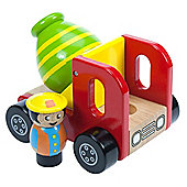 Bigjigs Toys BJ345 Cement Mixer