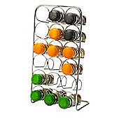 Hahn 18 Jar Spice Rack, Chrome
