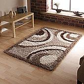 Oriental Carpets & Rugs Vista Beige Rug - 170cm L x 120cm W