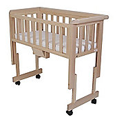 Troll Bedside Crib (Natural)