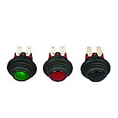IP65 Dp Switch Green