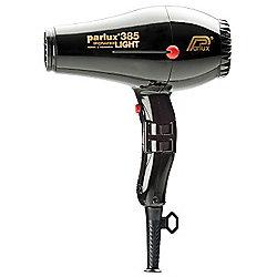 Parlux 385 Powerlight Hair Dryer Black