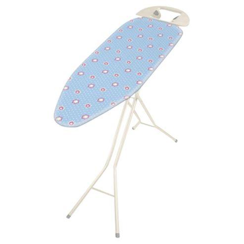 buy addis small ironing board cover blue flower design. Black Bedroom Furniture Sets. Home Design Ideas