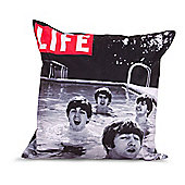 LIFE® Scatter Cushion - The Beatles In A Pool