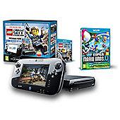 Wii U PREMIUM & LEGO CITY UNDERCOVER (NEW SUPER MARIO BROS U)