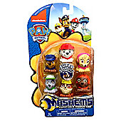 Paw Patrol Mashems Mashems Series 1 Value Pack Toy Figure Set of 6
