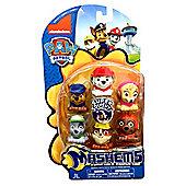Paw Patrol Mashems Mashems Series 1 Value Pack Toy Figure Set of 6