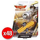 Disneys Planes Fire & Rescue Diecast Leadbottom (Bulk value 48 Pack)