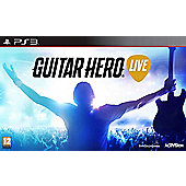 Guitar Hero Live PS3 (Includes Guitar)