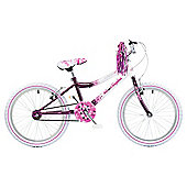 "Concept Starlight Girls Single Speed 20"" Purple/White"