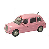 TX4Taxi in Pink 1/4 scale diecast model from Oxford Diecast