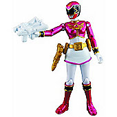 Power Rangers Megaforce 10cm Metallic Force Figure - Pink Ranger