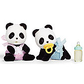 Panda Twin Babies - Sylvanian Families Baby Figures 5117