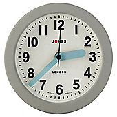 Jones & Co Silicone Fab Clock Grey