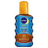 NIVEA SUN Protect & Bronze Tan Activating Protecting Oil 30 High 200ml