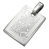 Urban Male Men's Pendant Stainless Steel King Of Spades
