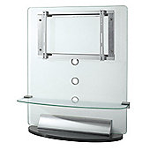 Jual JF013F Frosted glass Plasma / LCD stand