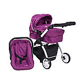 Britax Smile 3-in-1 Dolls Travel System (Cool Berry)