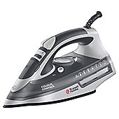 Russell Hobbs 20280 Color Control Ceramic Plate Steam Iron - Grey & White