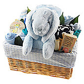 Deluxe Baby Boy Gift Flower Basket
