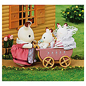 Sylvanian Families - Chocolate Rabbit Twins Set