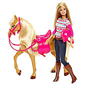 Barbie and Tawny Horse
