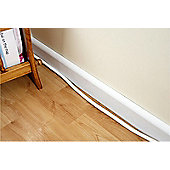CABLE TRUNKING 30MM X 15MM 1.5M (WHITE)